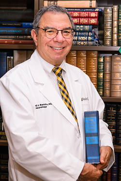 Rick Barohn, MD in his office