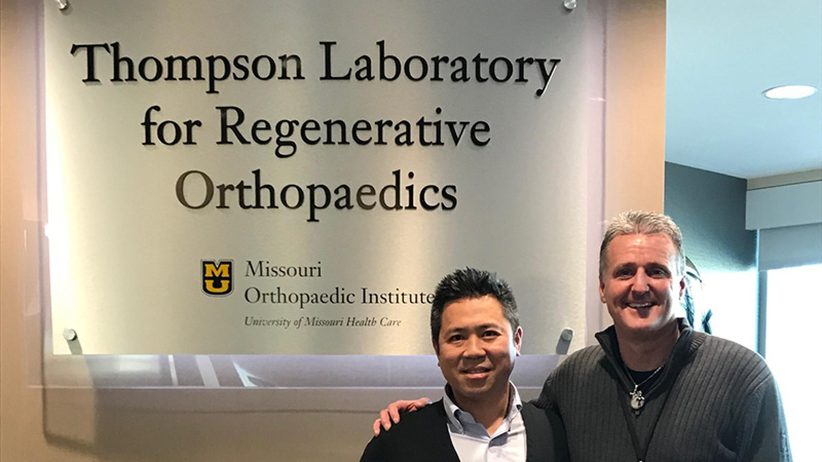 Simon Tang, PhD, Assistant Professor in the Department of Orthopaedics at Washington University School of Medicine