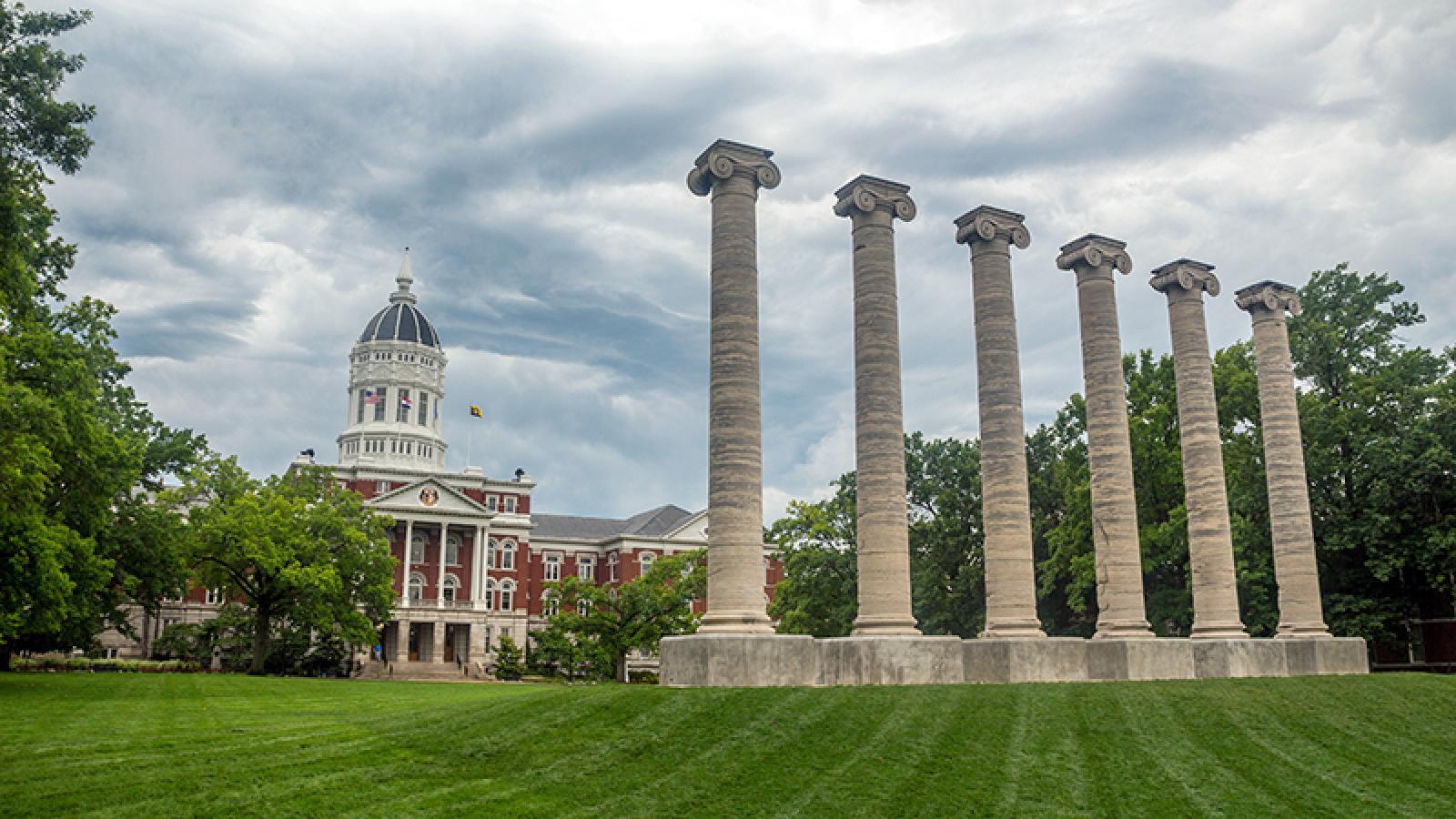 Jesse Hall and MU Columns