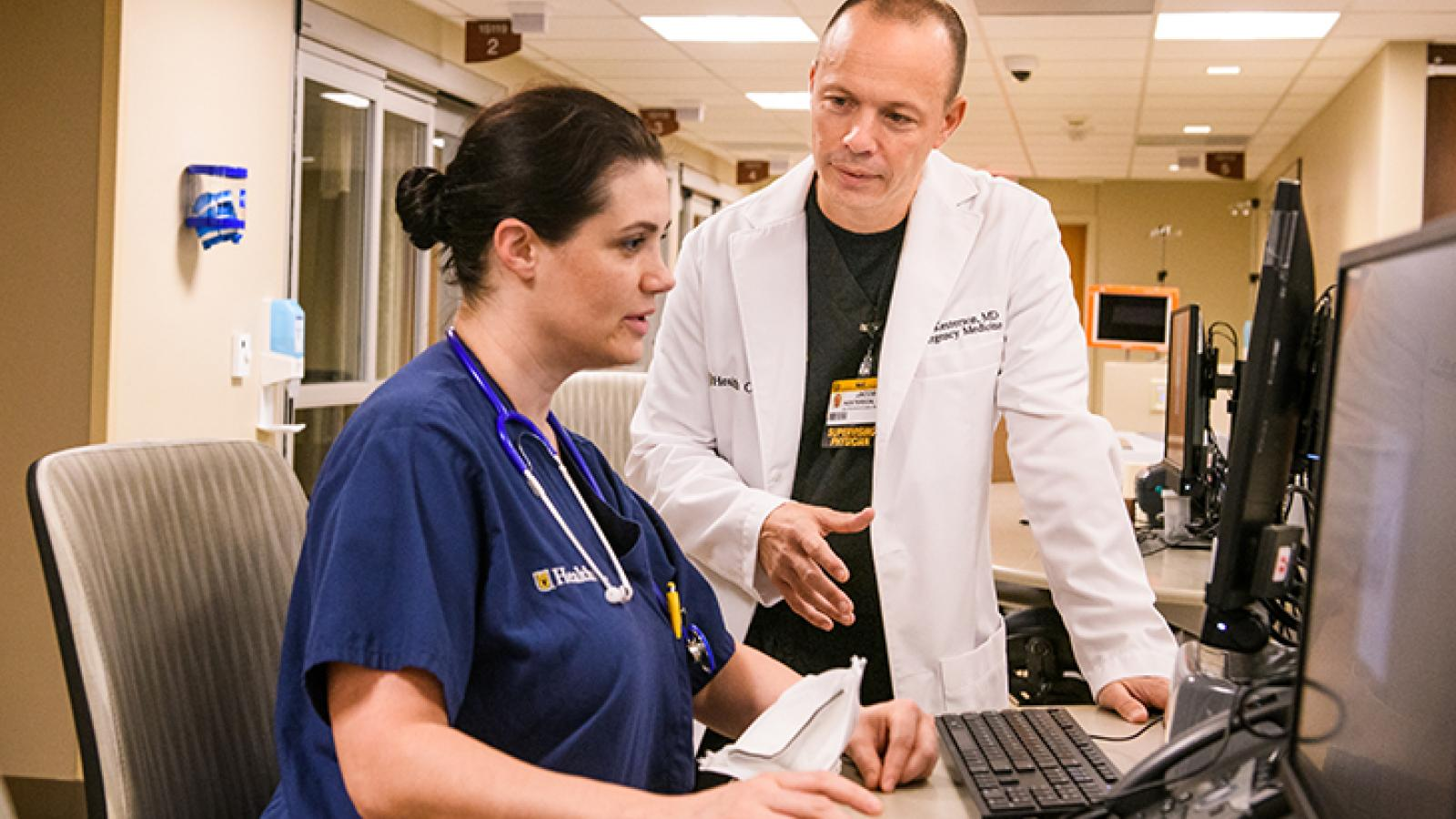 EM Dr. Kesterson with staff