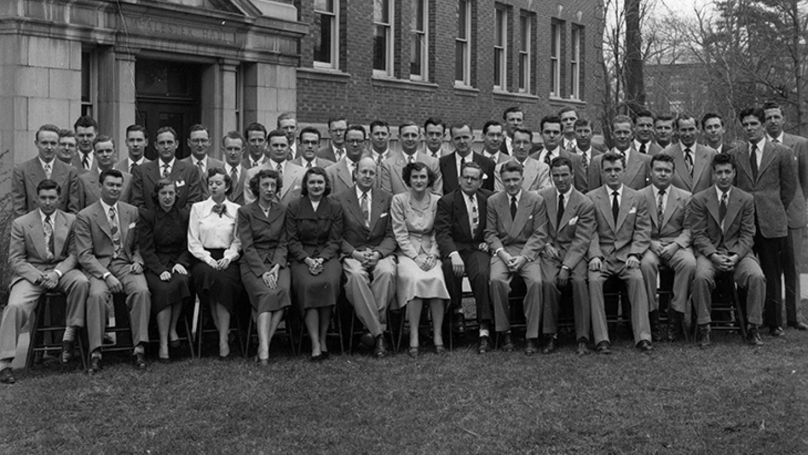 Class of 1950 portrait