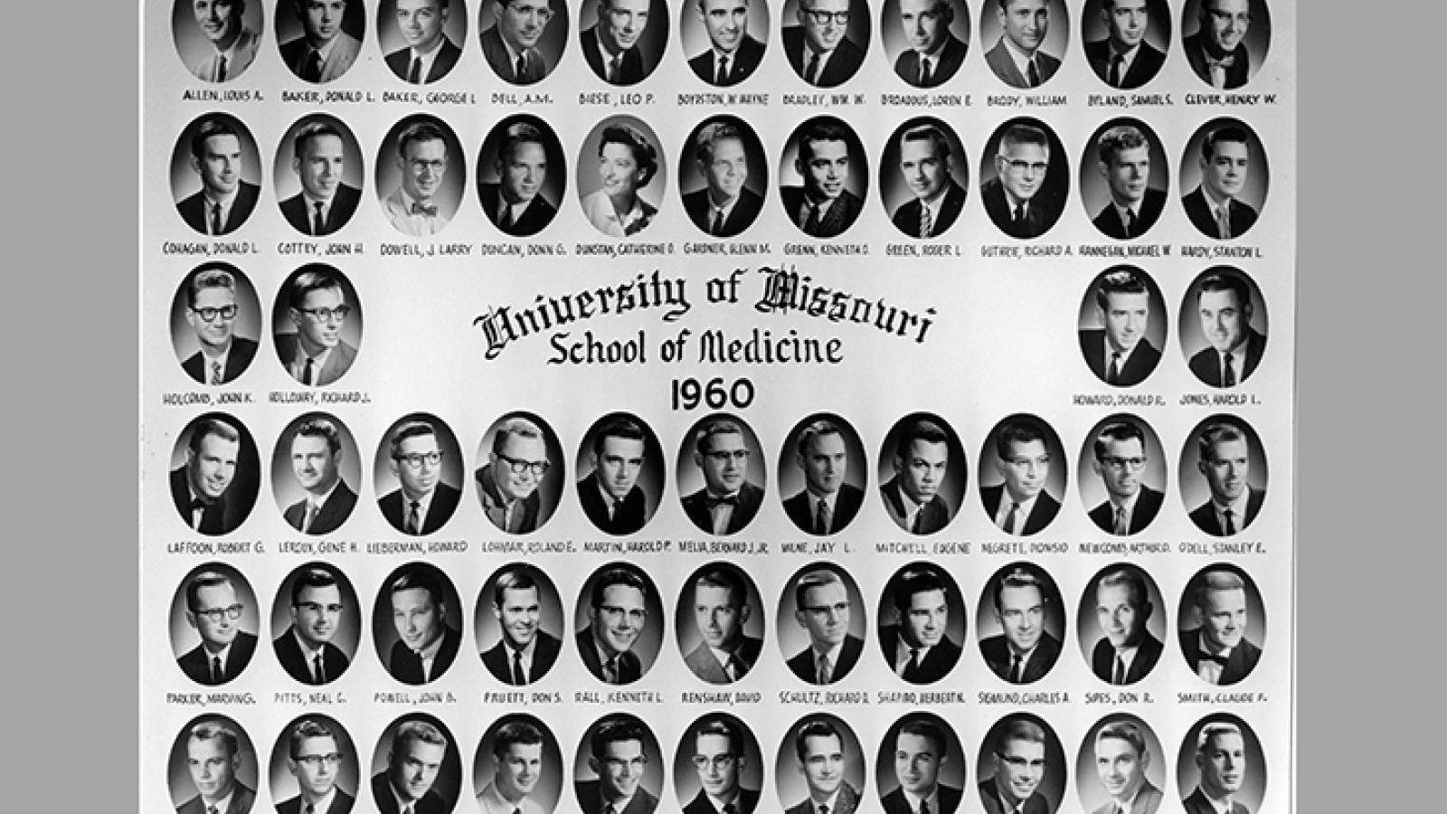 Class of 1960 composite