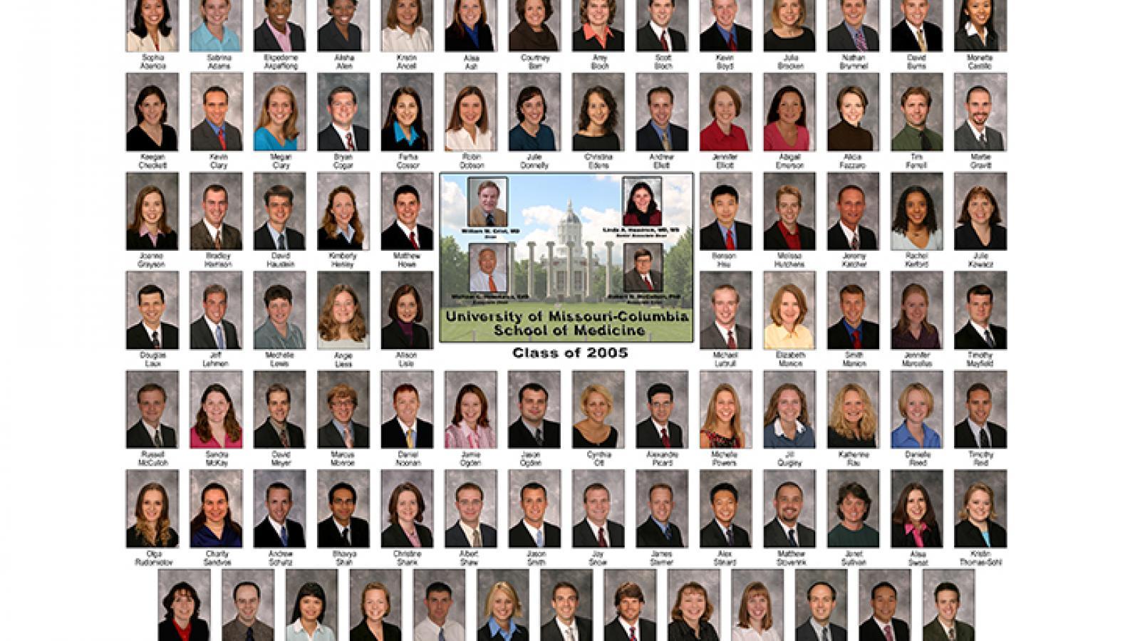 Class of 2005 composite