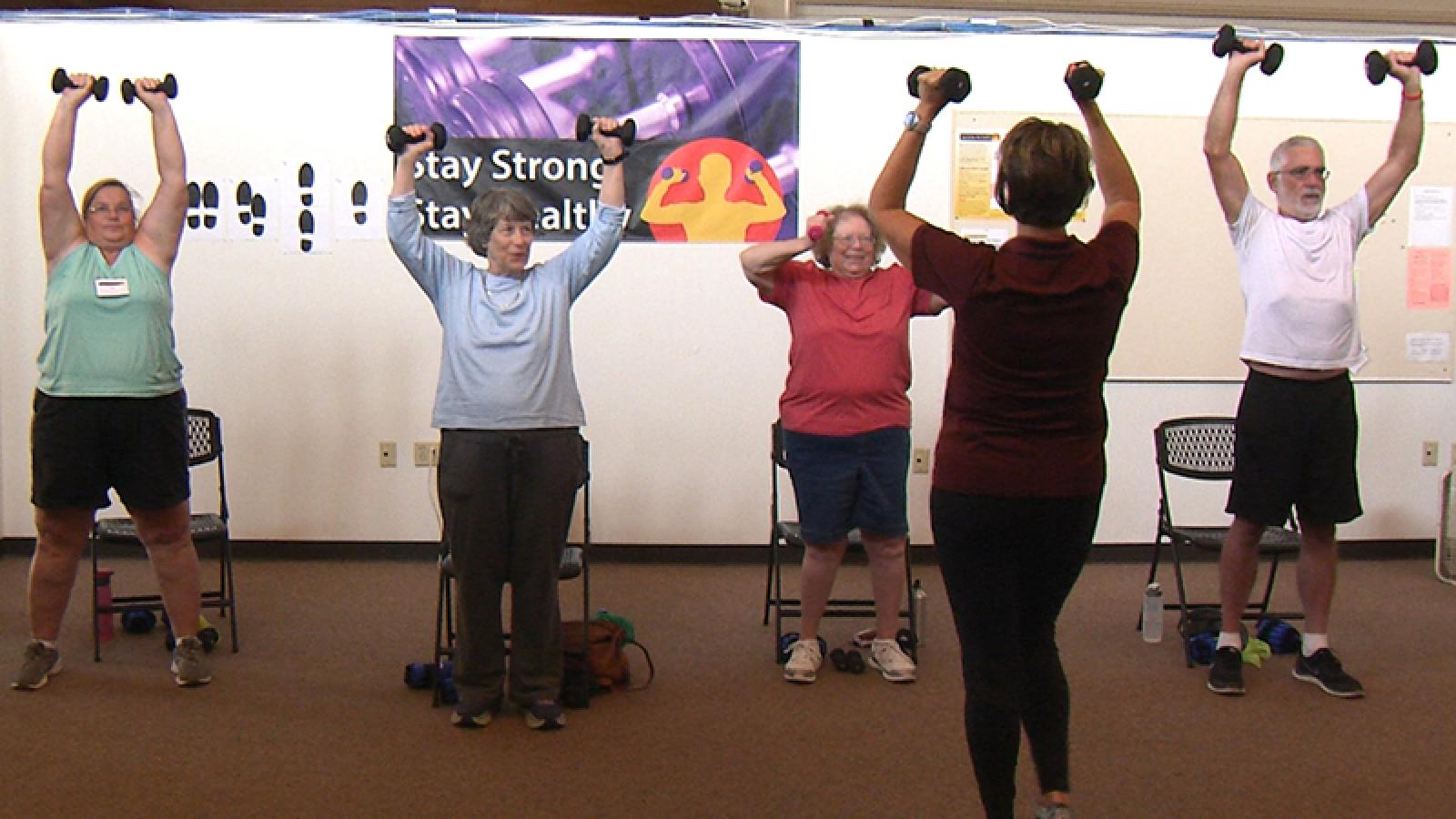 Stay Strong, Stay Healthy class