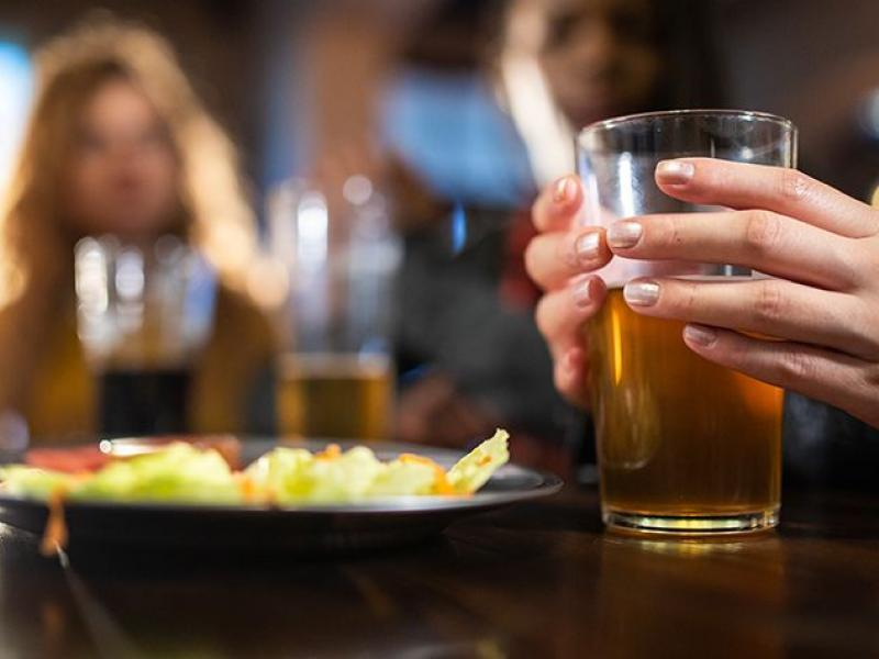 binge drinking may be more damaging to women
