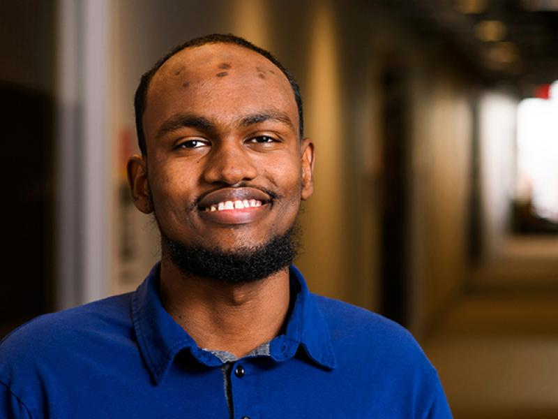 Abdi Abud, Medical Minority Scholarship, First-year student, St. Louis